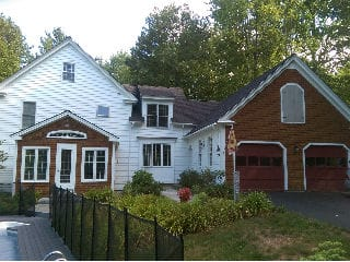Exterior painted house by painters nh