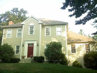 Painters Derry NH residential exterior painting
