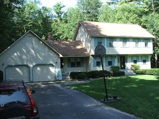 Painters Hudson NH residential exterior painting
