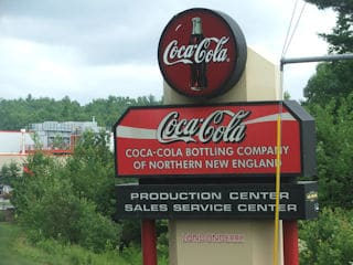 Painters Londonderry NH interior and exterior commercial painting at Coca Cola