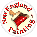New England Painting logo.