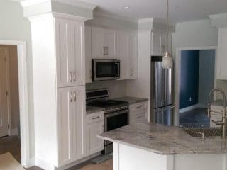 painters nh professional interior painted kitchen