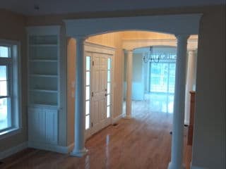 Residential interior room painting by Painters Litchfield NH.