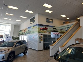 Commercial interior painting by painters Laconia NH.