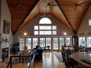 Painters Dunbarton NH residential painting interior.