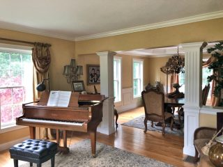 Painters Greenland NH residential interior painting.