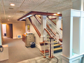 Lakes Region Painters commercial painting.
