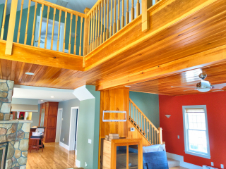 Lakes Region Painters interior painting.