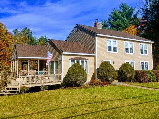 Painters Stratham NH exterior painting.