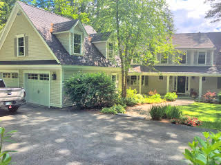 Painters Hopkinton NH residential exterior painting.