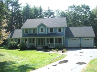 Painters Litchfield NH residential exterior painting.