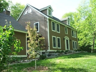 Painters Milford NH residential exterior painting.
