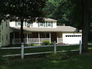 Painters New Boston NH residential exterior painting.