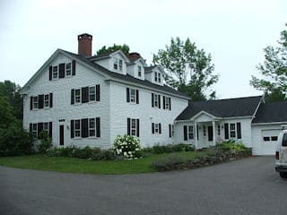 Painters Meredith NH residnetial exterior painting.