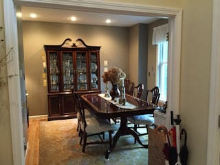 Painters Milford NH professional interior painting.