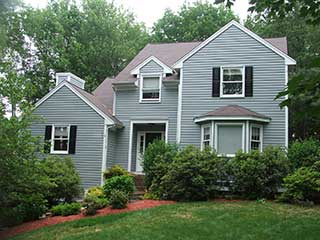Painters Amherst NH exterior painting.