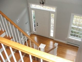 Painters Milford NH contract residential interior painting.