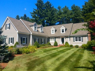 Painters Litchfield NH exterior painting.