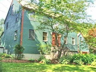 green exterior painters house nh