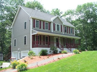 Painters Brookline NH residential exterior painting.