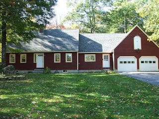 Painters Candia NH exterior painting.