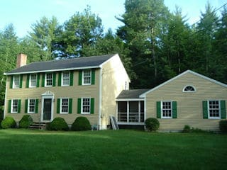 Painters Hollis NH residential exterior painting.