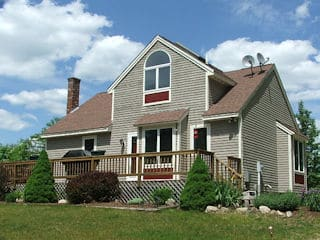 Painters Loudon NH residential exterior painting.