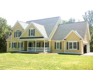 Painters Newmarket NH residential exterior painting.