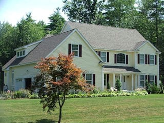 Painters Tilton NH residential exterior painting.