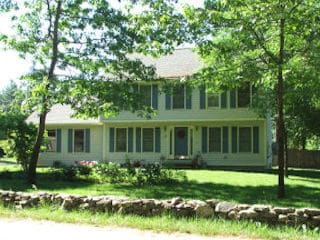 Painters Brentwood NH residential exterior painting.