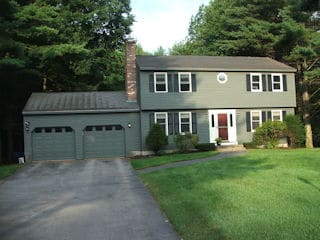 Painters Canterbury NH professional exterior painting.