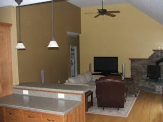 Painters Dunbarton NH residential interior painting.