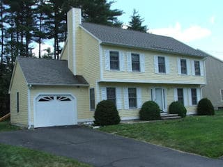 Painters Raymond NH residential exterior painting.
