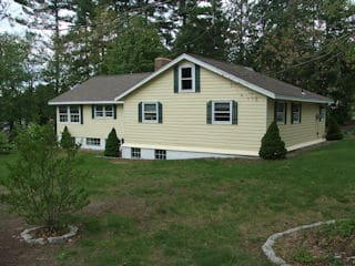 Painters Fremont NH professional exterior painting.