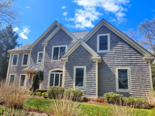 Painters Brookline NH exterior painting.