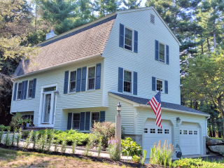 Painters Webster NH exterior painting.